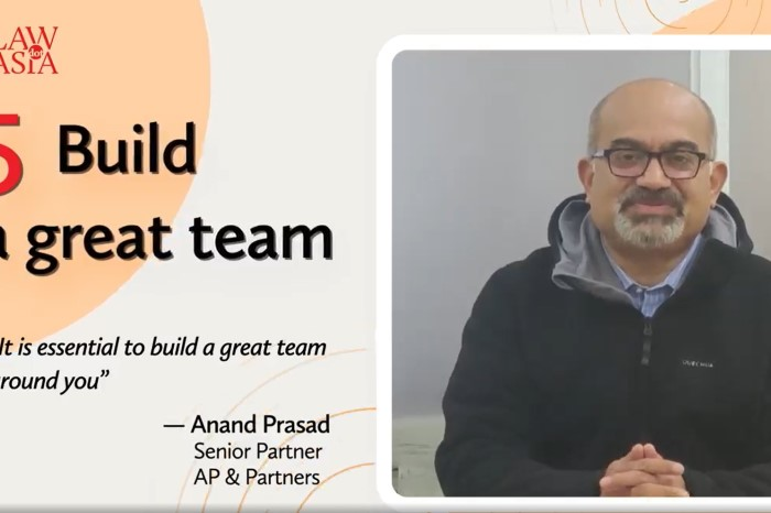 Our Senior Partner, Anand Prasad shares his views on leadership with IBLJ