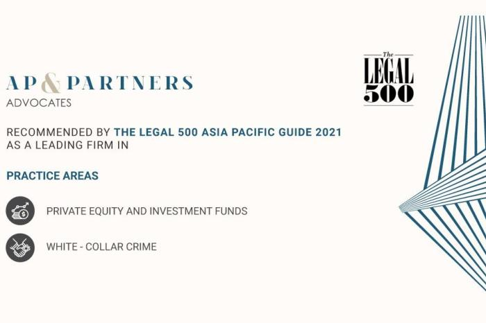 AP & Partners recognised as a recommended firm by Legal 500